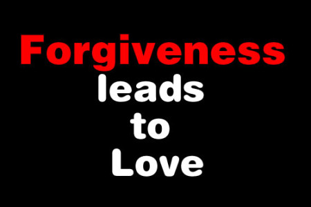 It Is Time To Forgive And Affirm Love
